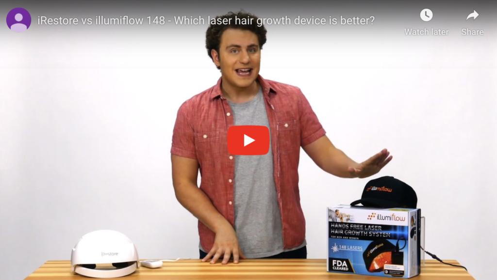 iRestore vs Illumiflow Video Comparison