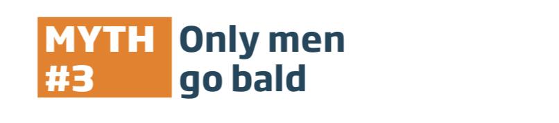 Hair Loss Myth #3 Exposed