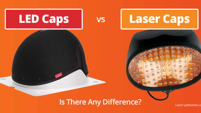 LED Caps vs Laser Caps for Hair Regrowth