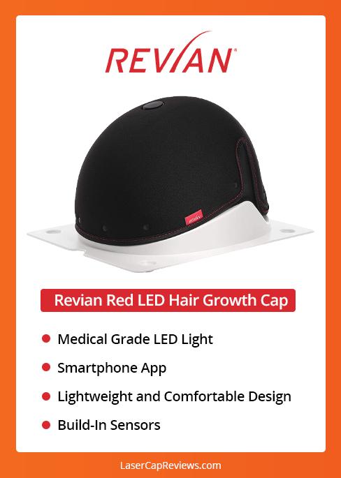revian Red LED Hair Growth Cap