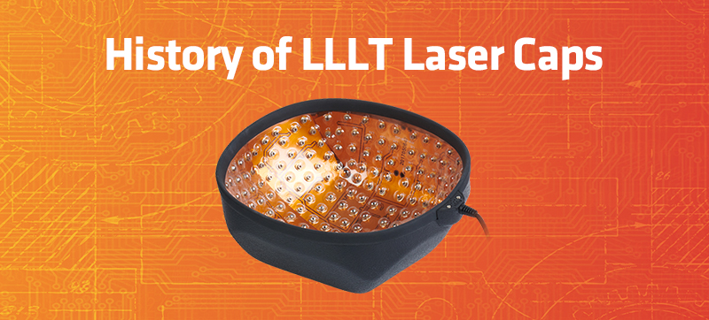 History of LLLT Laser Cap Devices
