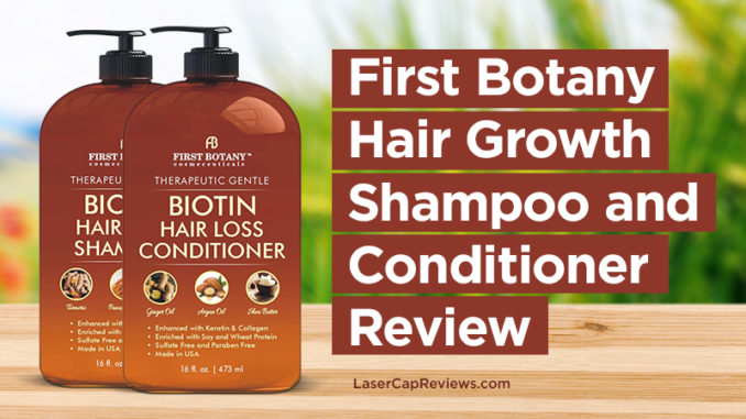 First Botany Hair Growth Shampoo And Conditioner