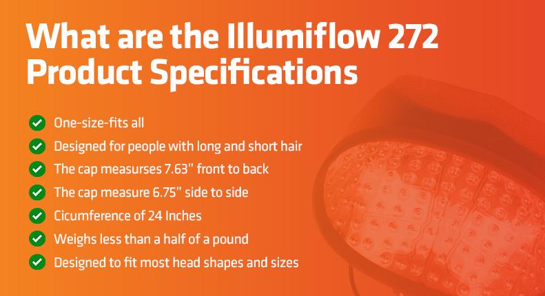 illumiflow 272 laser cap product specs