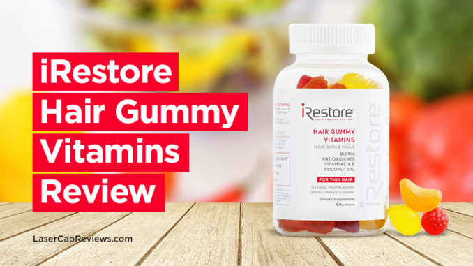 iRestore Hair Gummy Vitamins