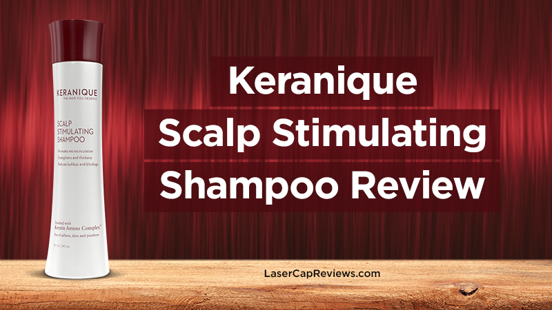 keranique scalp stimulating shampoo