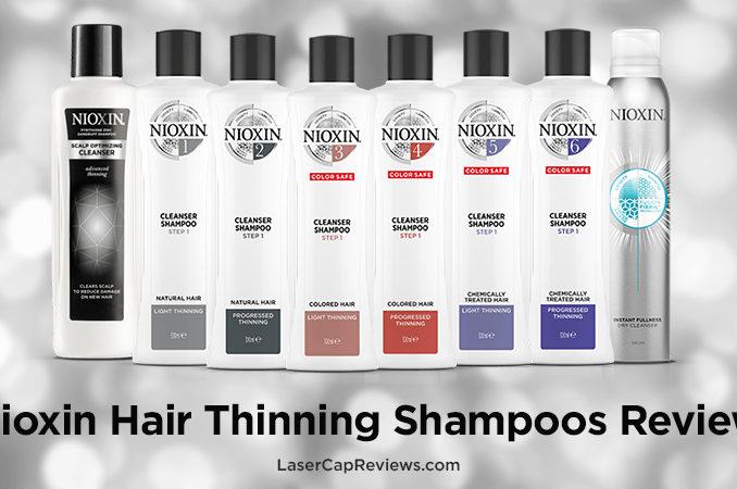 Nioxin Hair Thinning Shampoos