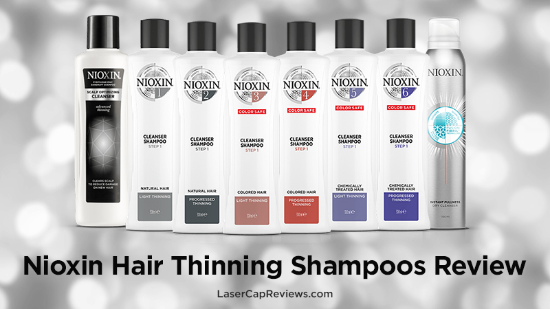 Nioxin Hair Thinning Shampoos