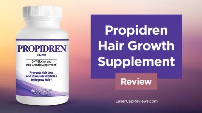 propidren hair growth supplement review
