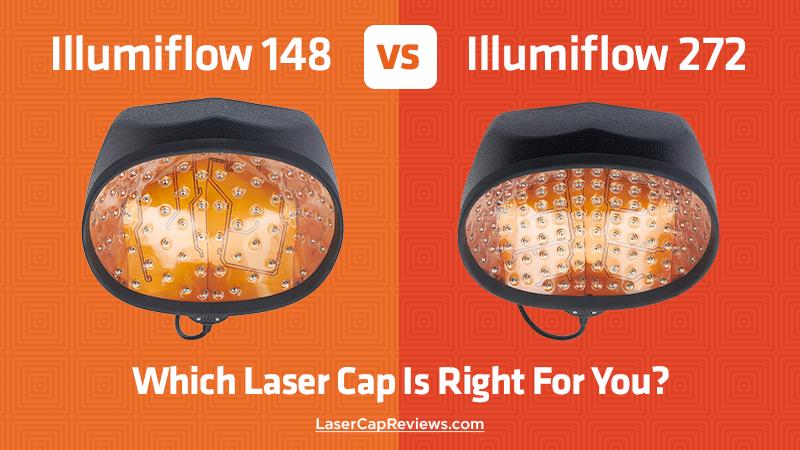 illumiflow 148 vs 272 laser caps