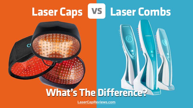 Laser Caps vs Laser Combs