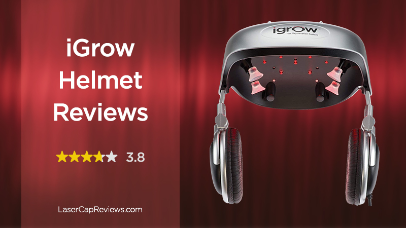 iGrow Helmet Reviews - 3.8 stars