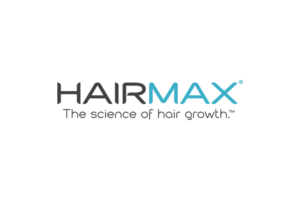 Hairmax logo - the science of hair growth