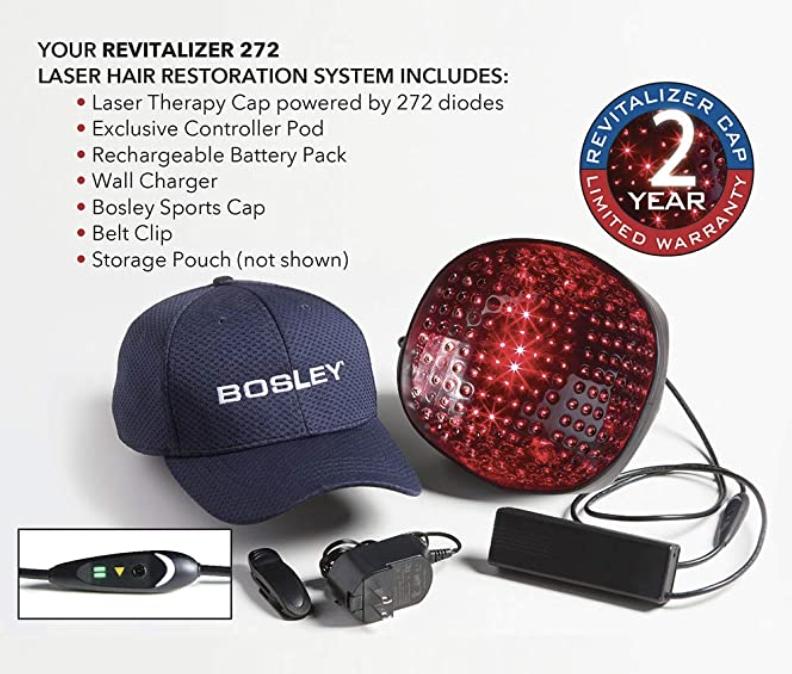 Bosley 272 Laser Cap Package